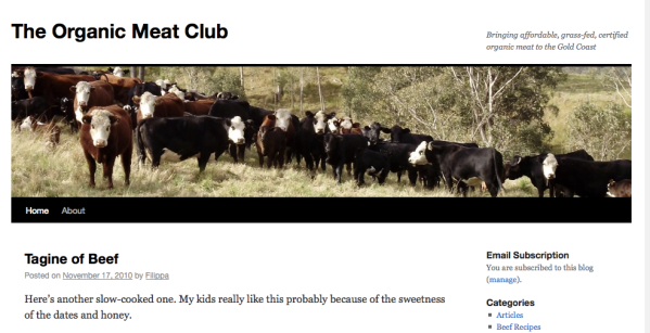 The Organic Meat Club